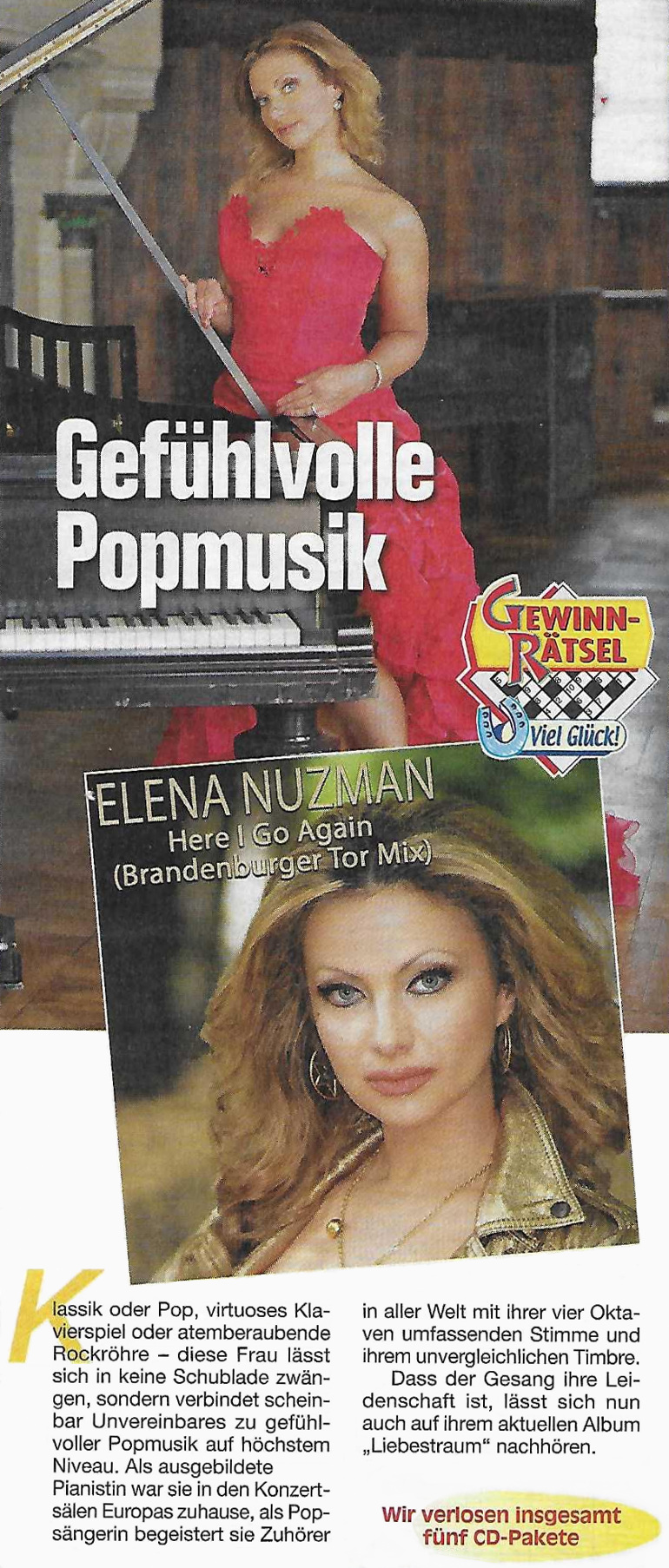 Elena Nuzman - Rätsel& Freizeit - April 2020