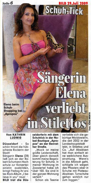 Elena Nuzman - BILD - Juli 2009