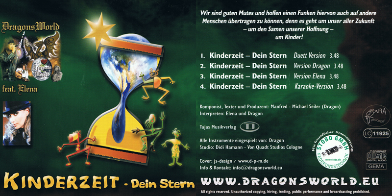 Elena Nuzman - Kinderzeit - Dein Stern - Single 2008