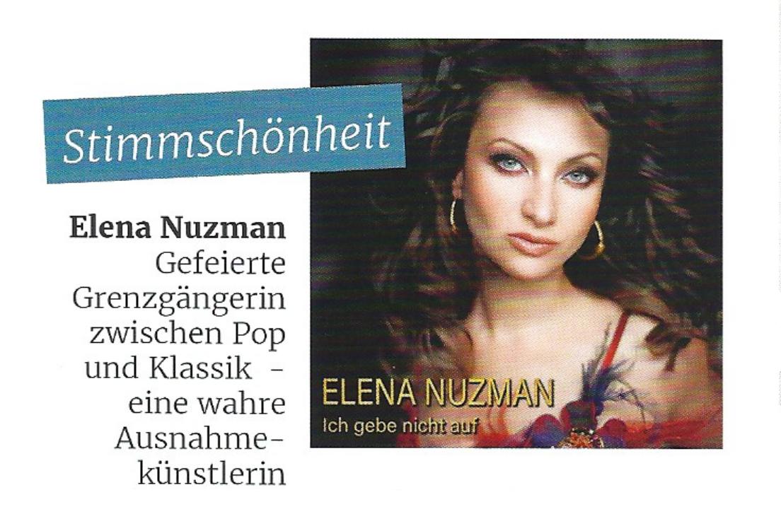 Elena Nuzman - hossa! - Magazin - März 2019