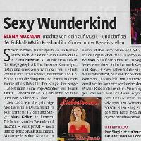 Elena Nuzman - Frau im Spiegel - April 2018
